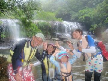 10/11西表島サンガラの滝半日カヌー(カヤック)ツアー11
