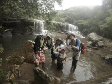 10/11西表島サンガラの滝半日カヌー(カヤック)ツアー21