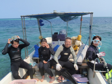 3/28西表島バラス島体験ダイビングツアー1