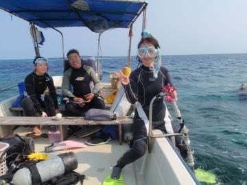 3/28西表島バラス島体験ダイビングツアー41