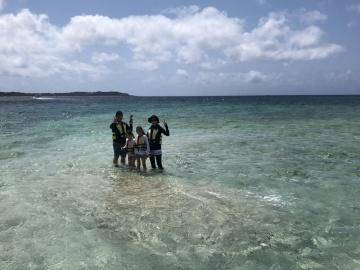4/30西表島バラス島スノーケリング(シュノーケリング)ツアー1
