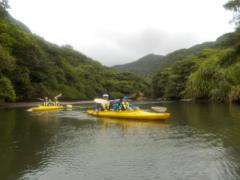 4/14西表島サンガラの滝半日カヌー(カヤック)ツアー22