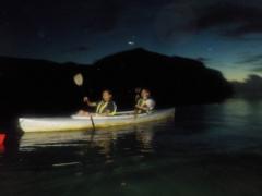 9/22西表島ナイトカヌー(カヤック)ツアー2