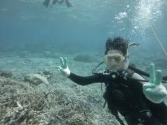3/28西表島バラス島体験ダイビングツアー12
