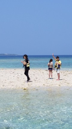 4/1西表島バラス島スノーケリング(シュノーケリング)ツアー13