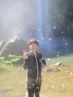 11/3西表島ピナイサーラの滝半日カヌー(カヤック)ツアー13