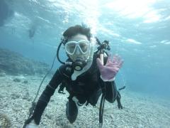 3/28西表島バラス島体験ダイビングツアー13