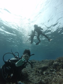 3/28西表島バラス島体験ダイビングツアー23