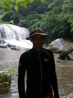4/15西表島サンガラの滝半日カヌー(カヤック)ツアー14