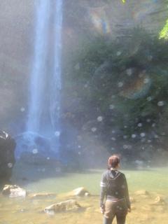 11/3西表島ピナイサーラの滝半日カヌー(カヤック)ツアー14