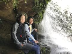9/10西表島サンガラの滝半日カヌー(カヤック)ツアー4