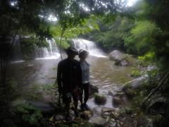 4/15西表島サンガラの滝半日カヌー(カヤック)ツアー15