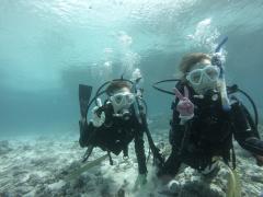 9/23西表島バラス島体験ダイビングツアー5
