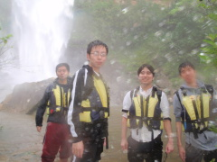 2/11西表島ピナイサーラの滝半日カヌー(カヤック)ツアー16