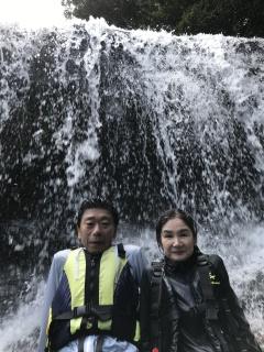 9/10西表島サンガラの滝半日カヌー(カヤック)ツアー16