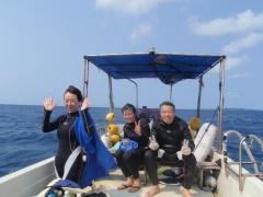 3/28西表島バラス島体験ダイビングツアー59