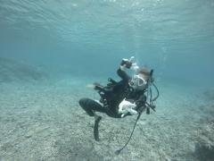 9/23西表島バラス島体験ダイビングツアー20