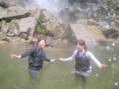 10/10西表島ピナイサーラの滝半日カヌー(カヤック)ツアー50
