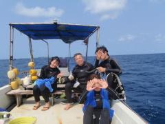 3/28西表島バラス島体験ダイビングツアー60